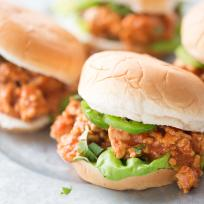 Chicken Tikka Masala Sloppy Joes Recipe