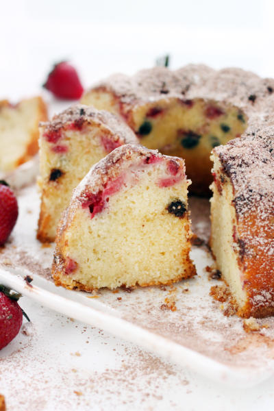 Strawberry Bundt Cake Image