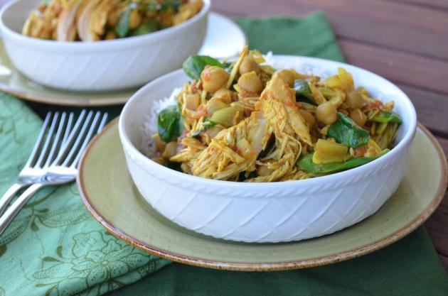 Slow Cooker Curry Chicken Photo