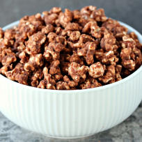 Nutella Popcorn Recipe