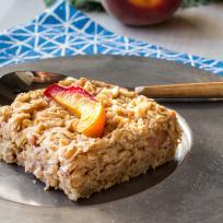 Baked Peach Oatmeal Recipe