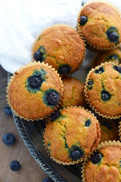 Grain Free Blueberry Muffins Picture