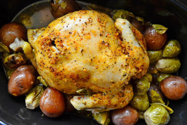 Slow Cooker Chicken and Potatoes Photo
