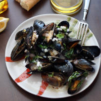 Whiskey Mussels en Papillote Recipe