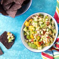 Grilled Sweet Corn Salsa Recipe