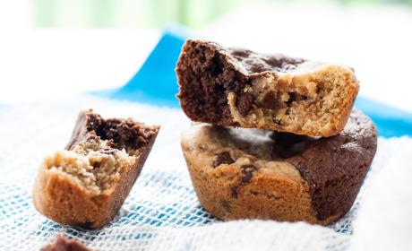 Peanut Butter Brookie Cups Recipe