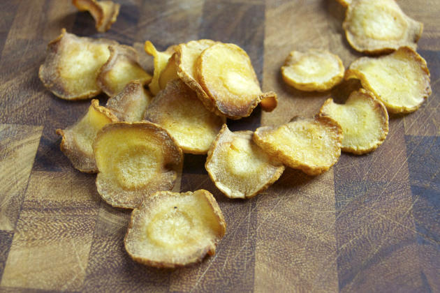 Baked Parsnip Chips Pic