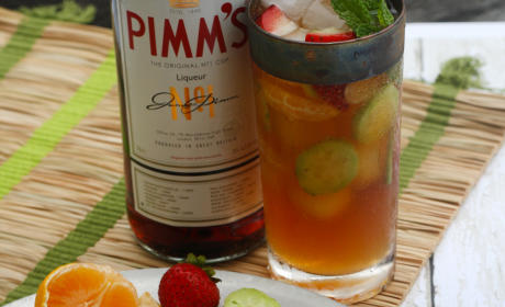 Pimm's Cup Ice Pops Pic