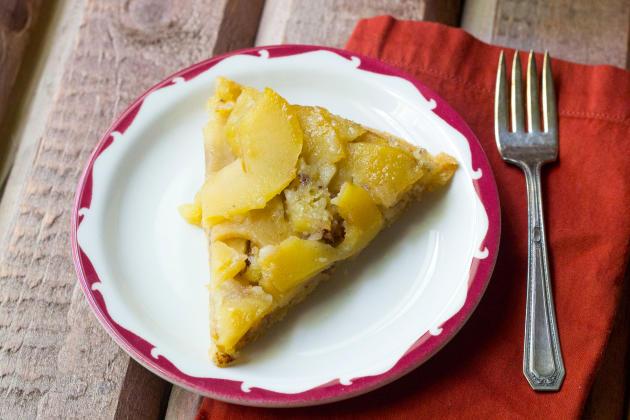 Swedish Apple Pie Pic