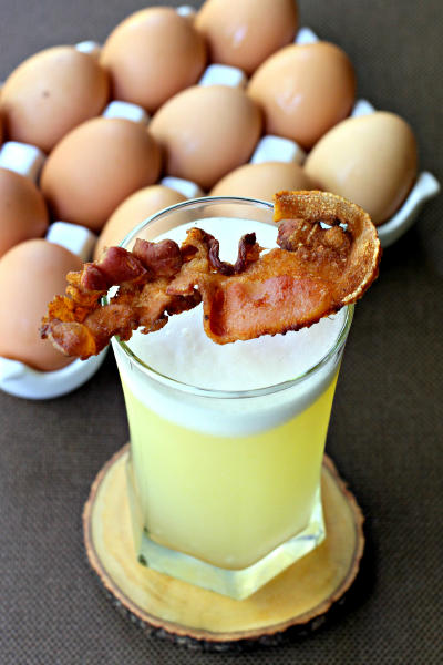 Bacon Gin Fizz Picture