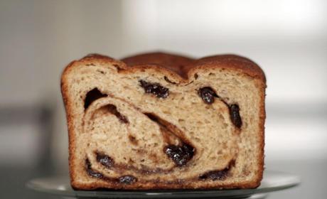 Amaretto Cinnamon Raisin Bread