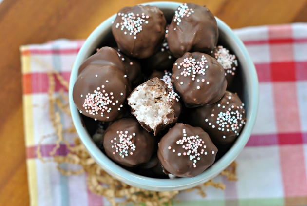 Coconut Truffles Photo