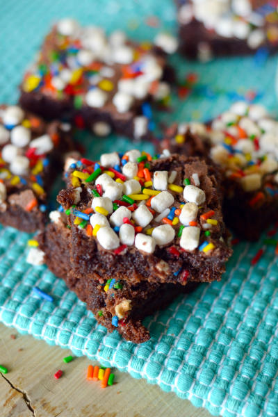 Hot Chocolate Brownies Picture