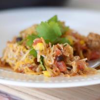 Spaghetti Squash Taco Skillet Recipe
