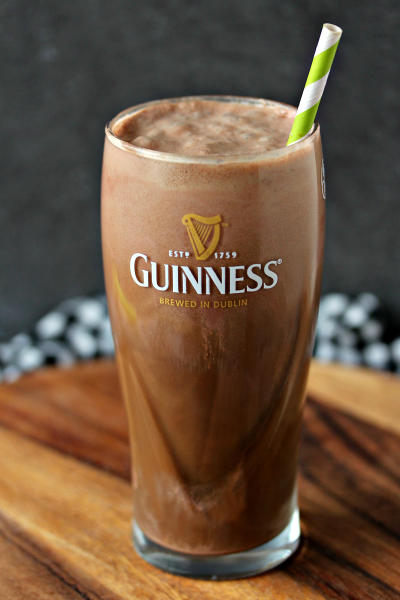 Chocolate Guinness Float Pic