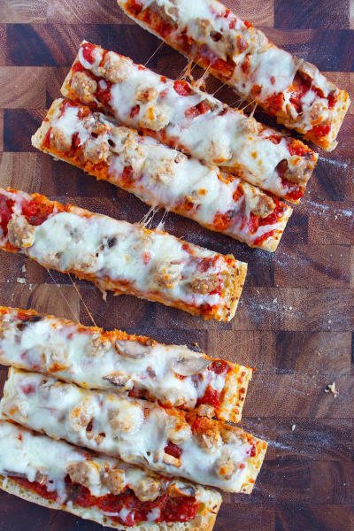 Ciabatta Pizza Sticks Picture
