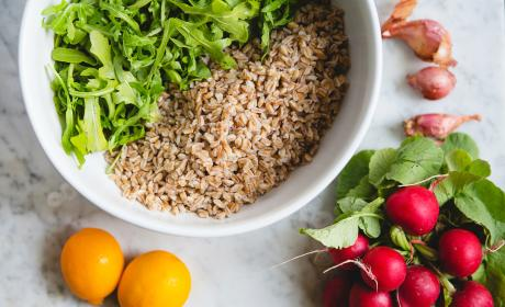 Farro Arugula Salad Recipe