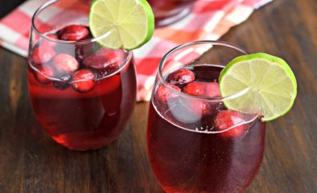 Cranberry Ginger Ale Punch Photo