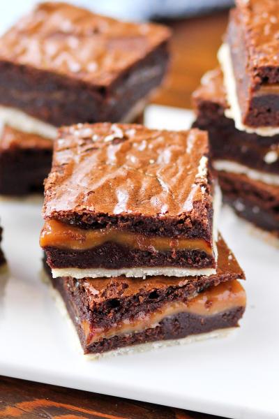 Twix Brownies Image