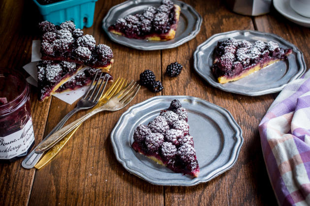 Bourbon Blackberry Jam Bars Photo