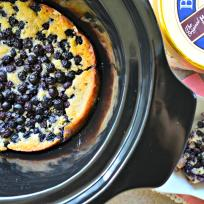 Slow Cooker Blueberry Cobbler Recipe