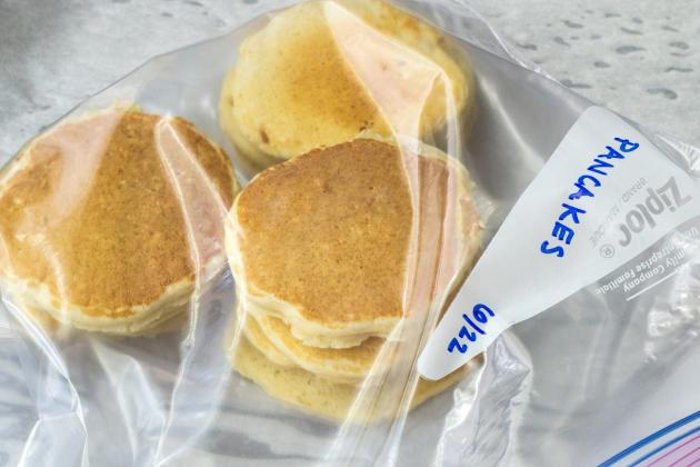 How to Freeze Pancakes Photo