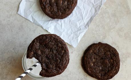 Toffee Nutella Cookies