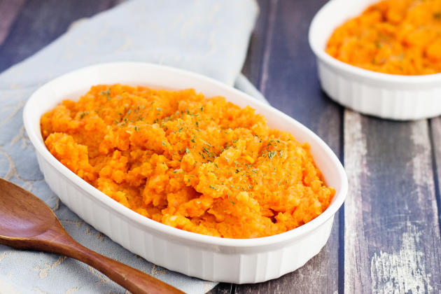 Mashed Carrots and Turnips Image
