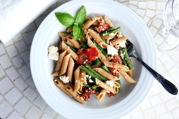 Pasta with Green Beans Picture