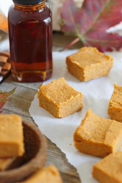 Paleo Pumpkin Pie Fudge Picture