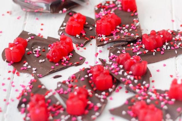 Valentine's Day Chocolate Bark Photo