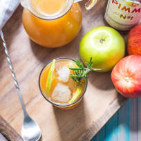Autumn Pimm's Cup Recipe