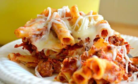 One Pot Baked Ziti Recipe