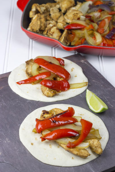 Homemade Chili's Chicken Fajitas Picture