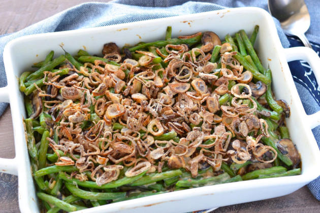 Gluten Free Green Bean Casserole Photo