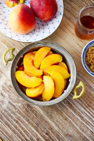Bourbon Peach Galette Picture