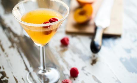 Peach Martini
