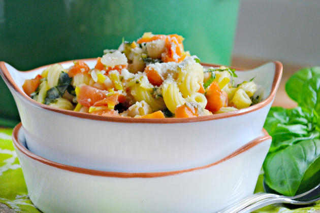 Chickpea Vegetable Soup Photo