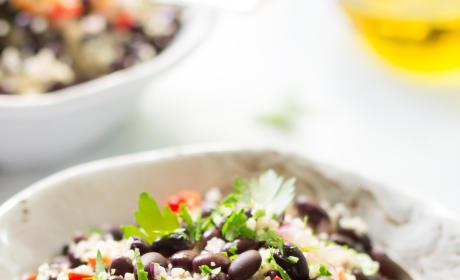 Black Bean Couscous Salad Pic