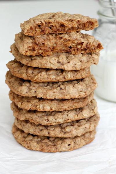 Pumpkin Spice Oatmeal Cookies Image