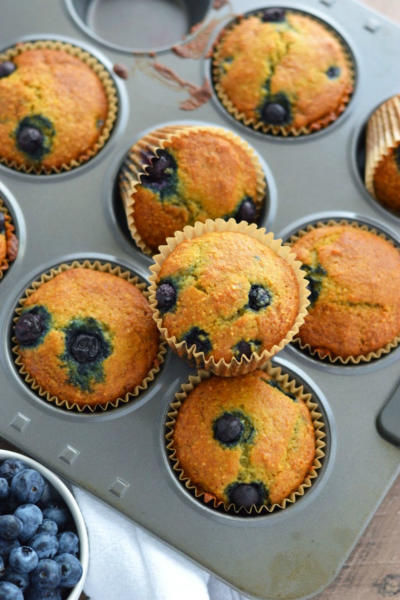 Grain Free Blueberry Muffins Image