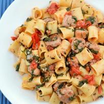 Rigatoni with Sausage Recipe
