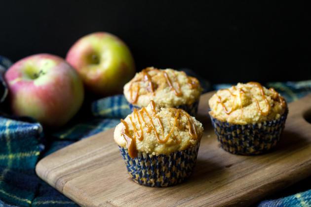 Caramel Apple Muffins Photo