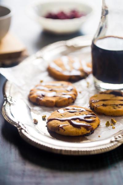 Vegan Shortbread Cookies Image