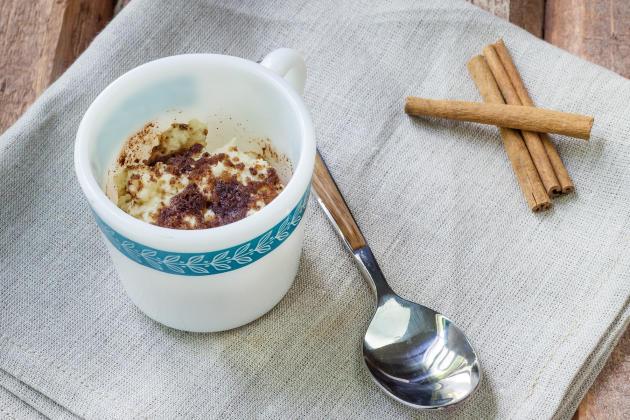 Coffee Cake in a Mug Photo