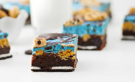 Cookie Monster Brownies Recipe
