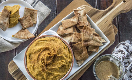 Curry Hummus with Sweet Potato