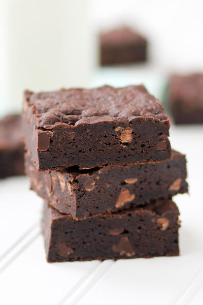Fudgy Cake Mix Brownies Picture