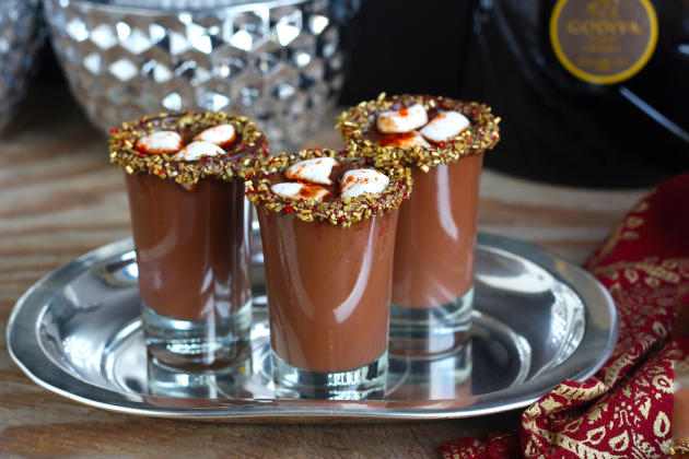 Mexican Hot Chocolate Shots Photo