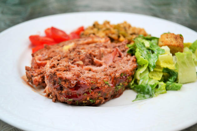 Stuffed Meatloaf Photo